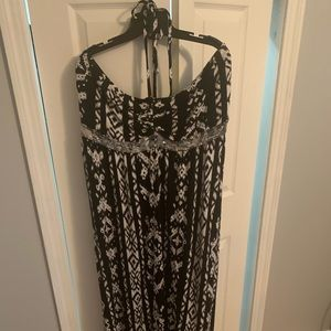 INC maxi dress from Macy's, 2x